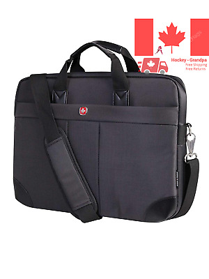 International Carry-On Size Notebook Bag - Holds Up to 15 6-Inch Laptop Black