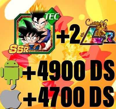 ⭐️Dokkan Battle - Global - ⭐️ 3 LR +4550 /+4200 DS 🌟Android / iOS