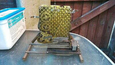 Unusual Smiths dual chime mantle/bracket Clock movement, spares or repair