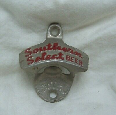 Vintage Starr X Southern Select Beer Cast Iron Wall Mount Bottle Opener