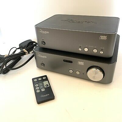 Rocketfish RF-RBKIT Wireless HD Audio Starter Kit Sender& Receiver W/ Remote