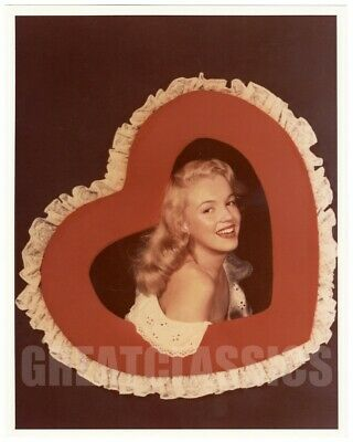 Marilyn Monroe 1947 Lovely Young Model Vintage Color Photograph By Bruno Bernard