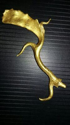 ** AMAZING ** Ancient 4th-3rd century B.C.Thracian ** GOLD ANTLER ** RHYTON **