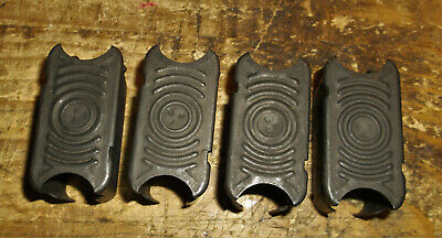 Set Of 4 WWII International Silver M1 Garand Rifle Clips 1 2 3 4 US Military