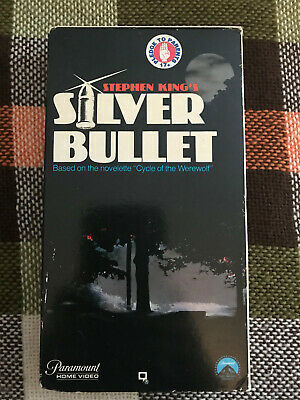 Stephen King's Silver Bullet, Vhs, Horror