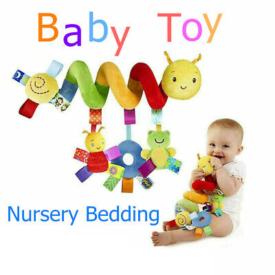 Baby Comfort Colorized Hanging Spiral Bed Winding Toy & Bell For Baby Unisex