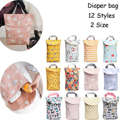 Wet/Dry Lovely Printing Multifunctional Nappy Bags Mummy Bag Diaper Organizer