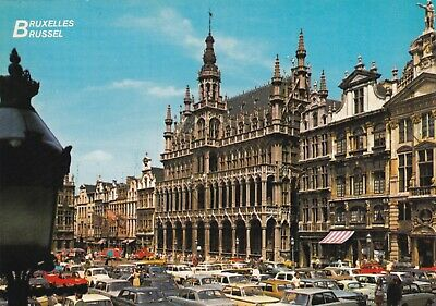carte postale     bruxelles       grand  place