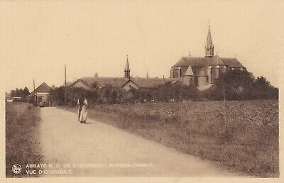 carte postale   forges chimay l abbaye
