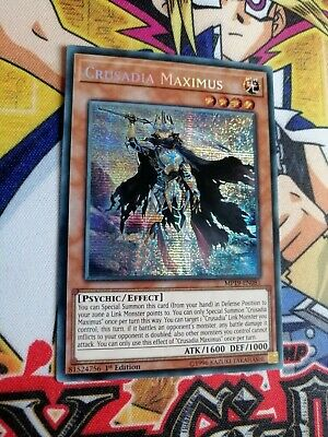 Crusadia Maximus mp19-en081 1st Ed (100% MINT) Prismatic Yu-Gi-Oh!