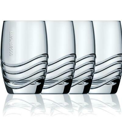 SodaStream Designglas 4er Pack, 330ml