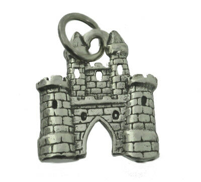 WOW Magical Fairy Tale medieval Sterling Silver 925 King Queen Castle Kingdom Ch