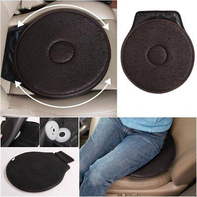 Rotating Seat Cushion Swivel Revolving Mobility Aid for Car Office Home Chair +
