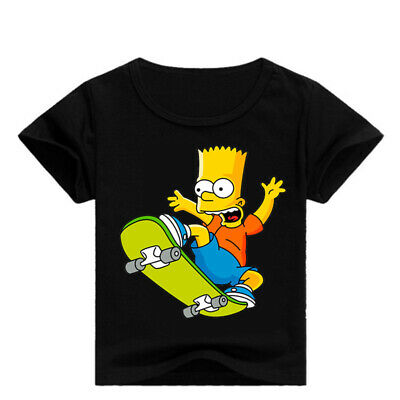 The Simpsons Kid's Unisex T-Shirt Boys Girls AU Shop