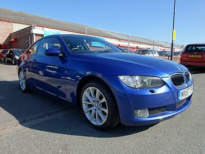2007 Bmw 320D Se Automatic 2.0 Diesel Coupe *Full Black Leather Interior*