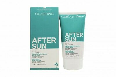 Clarins Refreshing Face & Body After Sun Gel. New. Free Shipping