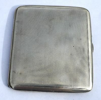 Beautiful Solid Sterling Silver Chester Cigarette Case 1940
