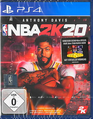 NBA 2K20 NBA2K20 - PlayStation 4 / PS4 - USK 0 - Deutsche Version - NEU & OVP EA