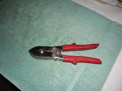 MALCO C-1 Tinsmith 5 Blade Pipe Crimper Duct Sheet Metal HVAC ~MADE IN THE USA~