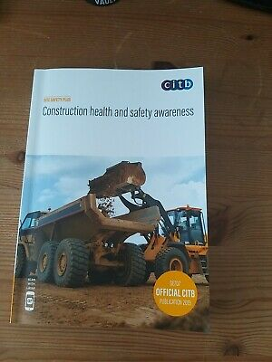Construction health and safety awareness 2019 GE707/19 9781857514995 | Brand New