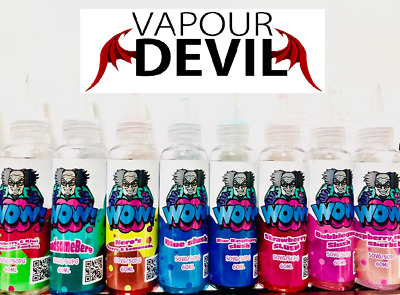 PROFESSOR WOW E-Liquid Vape Juice Best Flavours Available 60ml 3mg mg 50/50VG