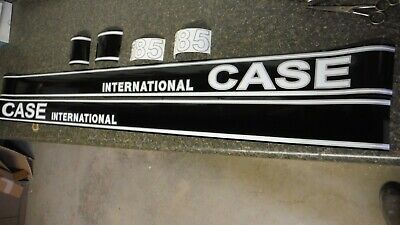 Case International 385 Tractor Decals. All Decals On The Hood. C-Details & Pics
