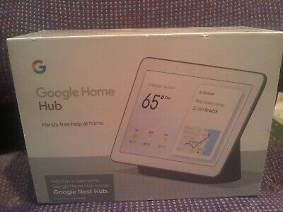 Google Home Hub with Google Assistant - GA00515-US Brand New Never Opened