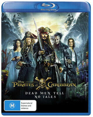 Pirates Of The Caribbean: Dead Men Tell No Tales (2016) [New Bluray]