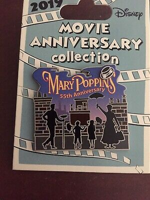 Mary Poppins 55th Cast Exclusive 2019 Movie Anniversary LE 1000 Disney Pin