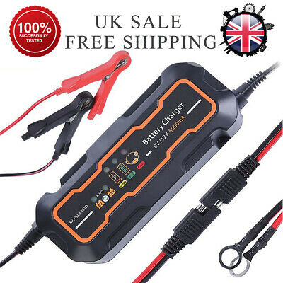 Excelvan-12V-5A-Car-Trickle-RV-Motorcycle-8-Step-Automatic-Smart-Battery-Charger