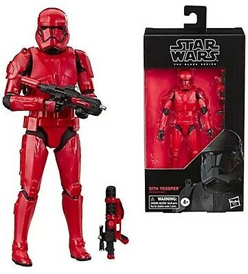 "Star Wars The Rise of Skywalker Black Series Sith Trooper Toy 6"" Figure PREORDER"