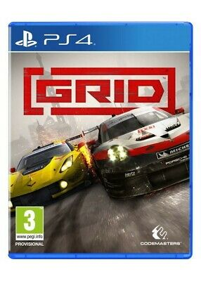 Preorder Grid Day One Edition For Sony Playstation 4 Brand New & Sealed!