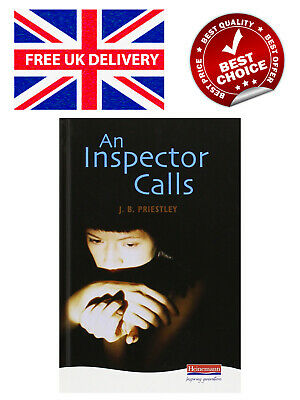 An Inspector Calls by J.B. Priestley Heinemann Plays For 14-16+ Hardback