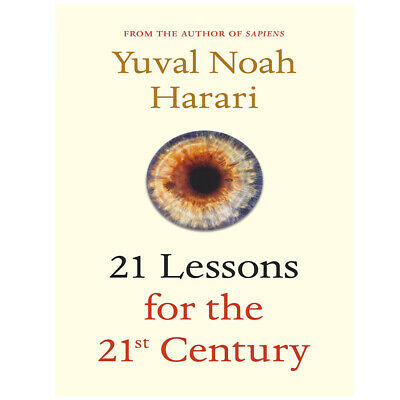 Yuval Noah Harari 21 Lessons for the 21st Century Hardcover NEW