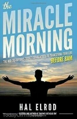 💥 The Miracle Morning By Hal Elrod PDF EB00K 📚 Instat delivery ⚡