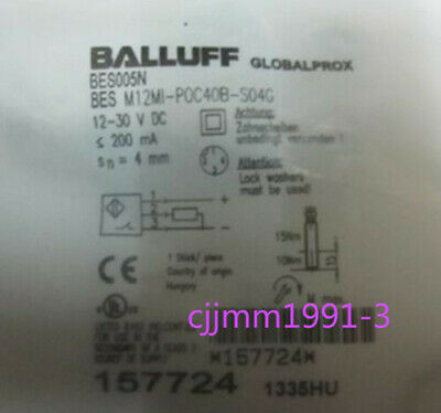 1PC New BALLUFF Proximity Switch BES M12MI-POC40B-S04G