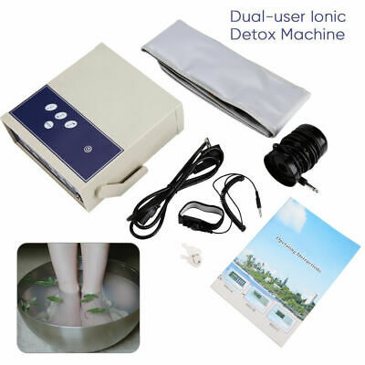Anion Ion Array Body Detox Machine Footbath Spa Ionic Waist Belt Detoxiation