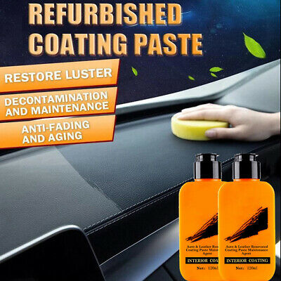 1/2/4X120ml Auto and Leather Renovated Coating Paste Maintenance Repairing Agent