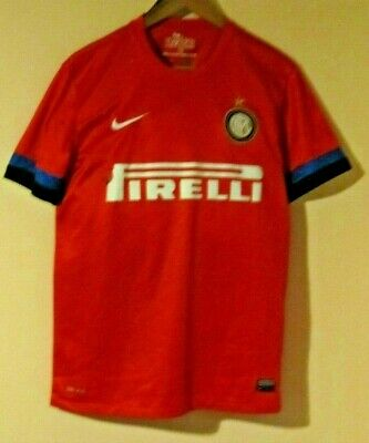 Inter Milan Away  Shirt. Circa 2012/13 Adults Medium size.