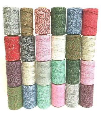Bakers Twine Craft Gift Wrapping Cord String 10 , 20 or 30 Metres
