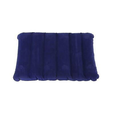 Large Inflatable Travel Flocking Pillow For Outdoor Camping Or Home Office MT