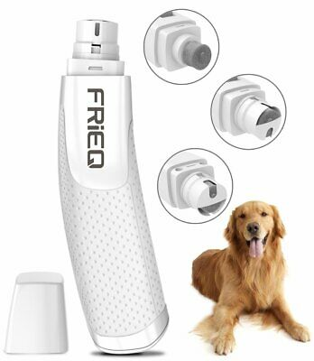 Dog Cat Pet Nail Trimmer Grooming Tool Care Grinder Electric Clipper Kit Bundle