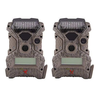 Wildgame Innovations Mirage No Glow 18 MP Hunting Trail Game Camera (2 Pack)