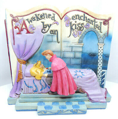 Figur Disney Enesco Jim Shore Traditions StoryBook 4043627 Aurora Enchanted Kiss