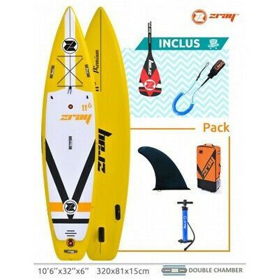 Stand Up Paddle Fury F4 Zray Longueur 350