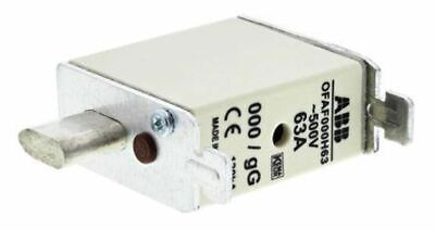 ABB 63A 0 HRC Centred Tag Fuse, gG, 500V 1SCA022627R1390