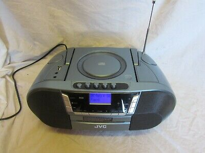 JVC DAB Boombox With Cassette RC-D327B