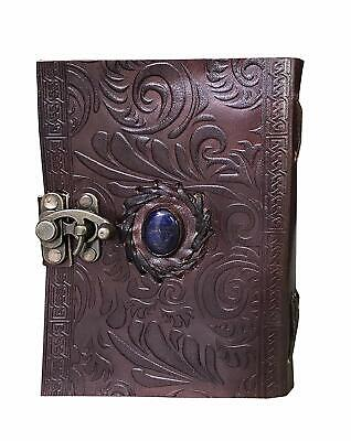 Refillable Handcrafted Leather dragons sketch album// journal10x13  inch size
