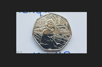 Paddington Bear At The Station 50P. Uncirculated. From Sealed Bags. Free Postage