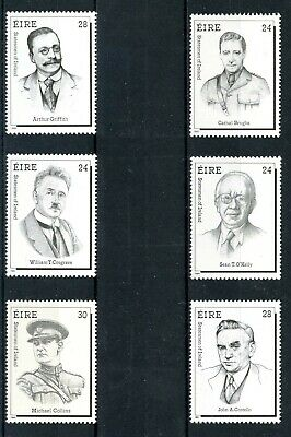 Statesmen of Ireland Series - Complete Set : Mint Never Hinged - FREE POSTAGE